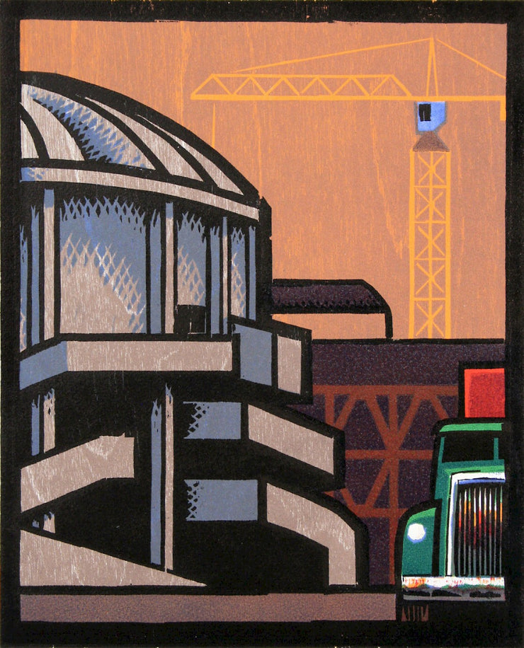 Kingdome and Construction by Lockwood Dennis - Davidson Galleries
