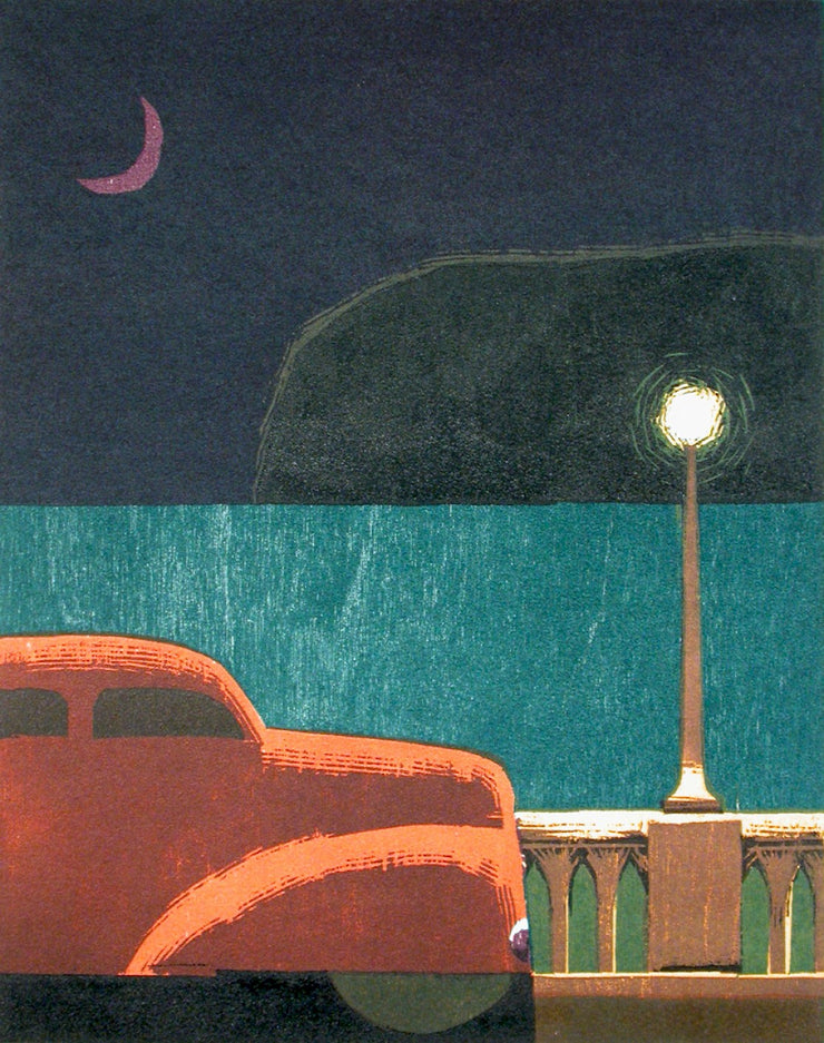 Moon, Sea by Lockwood Dennis - Davidson Galleries