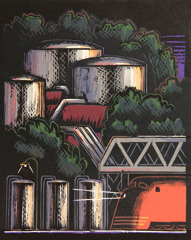 Oil Tanks by Lockwood Dennis - Davidson Galleries