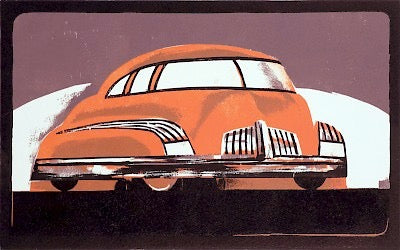 1940s Car of the Future I by Lockwood Dennis - Davidson Galleries