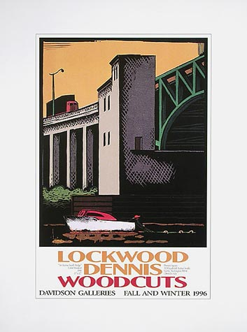 Lockwood Dennis Woodcuts Poster by Lockwood Dennis - Davidson Galleries