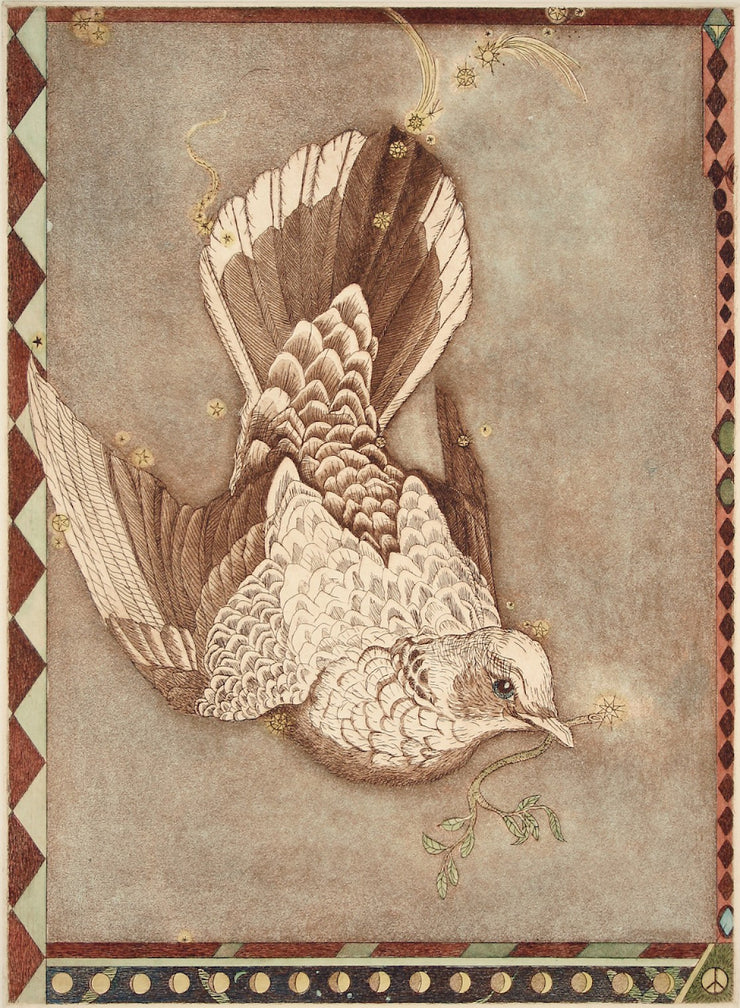 Columbia the Dove by Tallmadge Doyle - Davidson Galleries