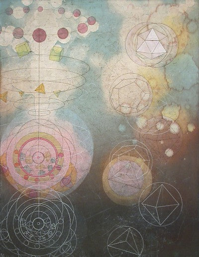 Kepler's Cosmic Geometry II by Tallmadge Doyle - Davidson Galleries