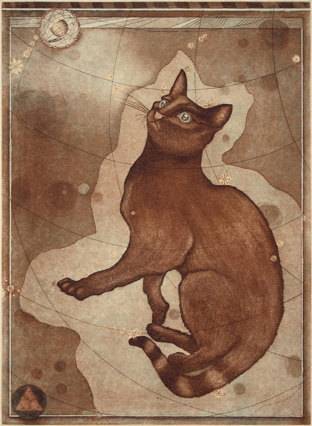 Stellar Feline by Tallmadge Doyle - Davidson Galleries