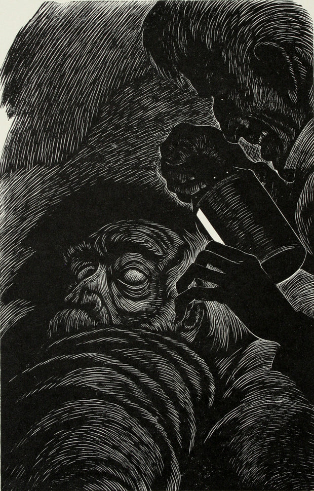 The Tell-Tale Heart by Fritz Eichenberg - Davidson Galleries