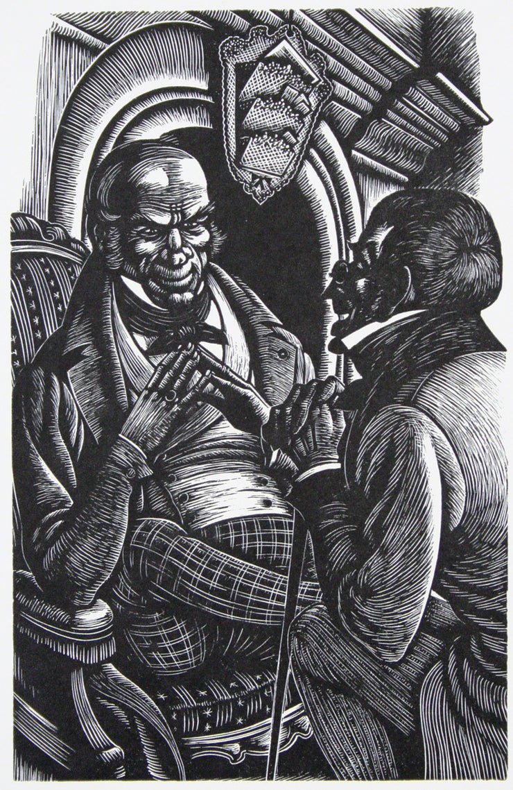 The Purloined Letter by Fritz Eichenberg - Davidson Galleries