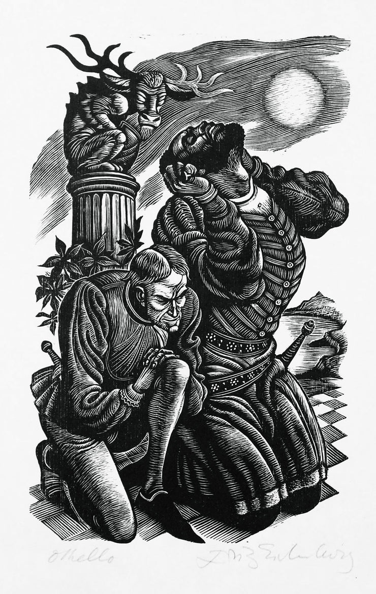 Othello by Fritz Eichenberg - Davidson Galleries