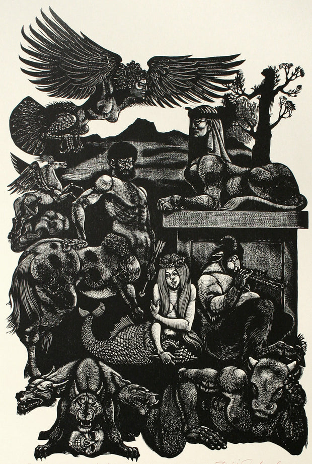 Beastiarium Fabulosum by Fritz Eichenberg - Davidson Galleries