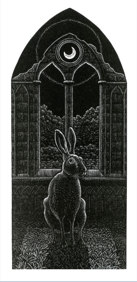 A Gothic Hare by Andy English - Davidson Galleries