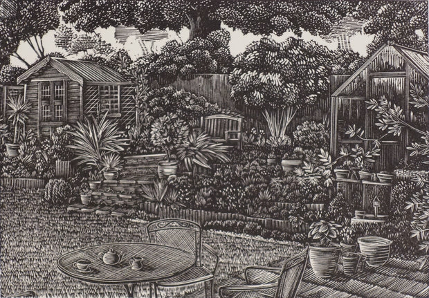 Tea in the Garden by Andy English - Davidson Galleries