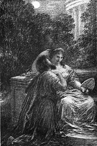 Les Troyens a Carthage: Act III-Duo D'amour by Henri Fantin-Latour - Davidson Galleries