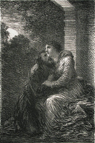 Lohengrin: Act III-Scene d'Amour by Henri Fantin-Latour - Davidson Galleries