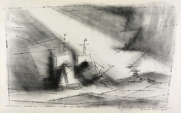 Off The Coast by Lyonel Feininger - Davidson Galleries