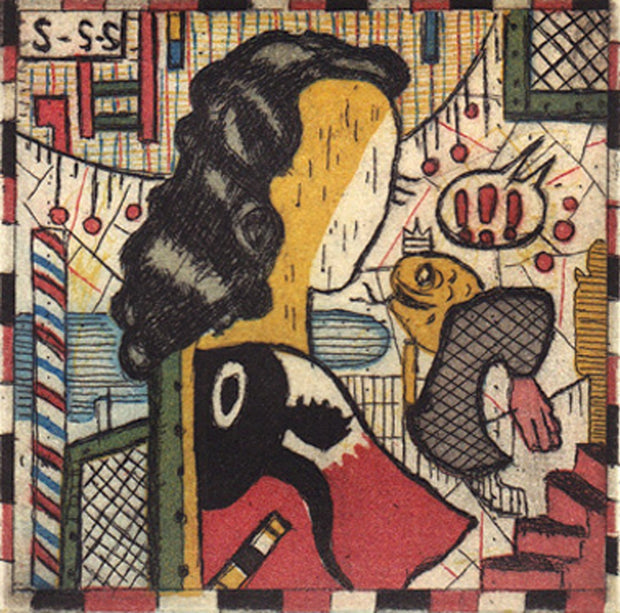 Hud's Girl by Tony Fitzpatrick - Davidson Galleries