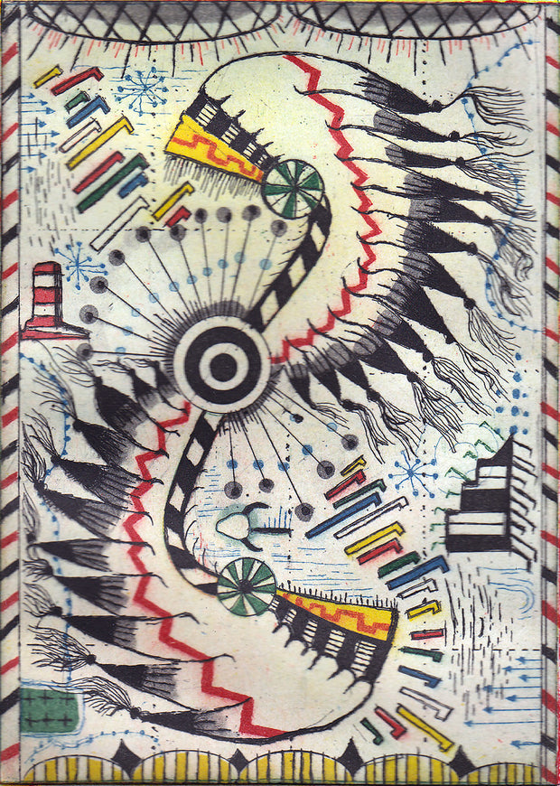 Trail of Tears by Tony Fitzpatrick - Davidson Galleries