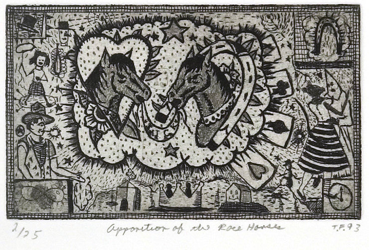 Apparition of the Race Horses by Tony Fitzpatrick - Davidson Galleries