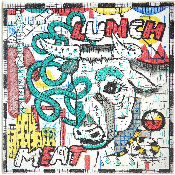 Lunch Meat by Tony Fitzpatrick - Davidson Galleries