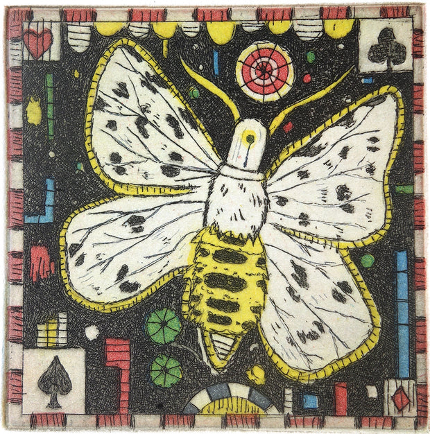 Night Moth by Tony Fitzpatrick - Davidson Galleries
