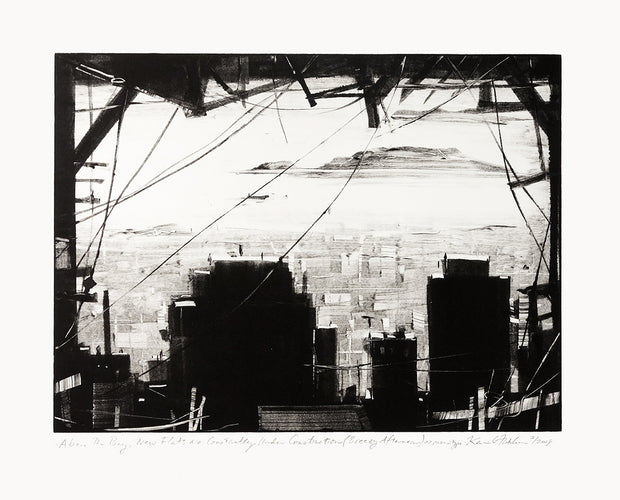 Above The Bay, New Flats Are Constantly Under Construction (Breezy Afternoon) by Kevin Fletcher - Davidson Galleries