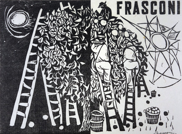 Orchard by Antonio Frasconi - Davidson Galleries