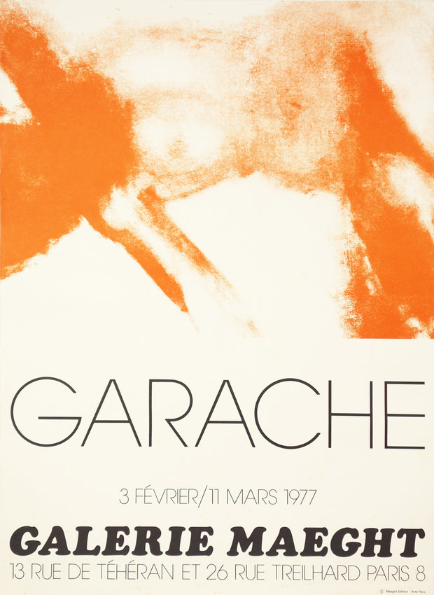 Untitled Exhibition Poster by Claude Garache - Davidson Galleries