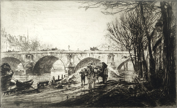 Ponte Marie in Paris by Paul Geissler - Davidson Galleries