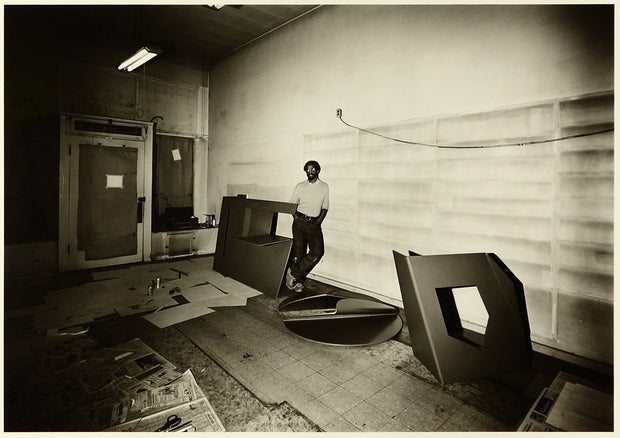 Weldon Butler In Seattle Studio by Ford Gilbreath - Davidson Galleries
