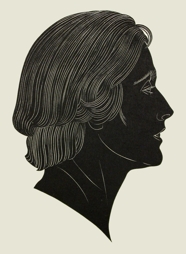 Clare (Portrait of Mrs. H. D. Pepler) by Eric Gill - Davidson Galleries