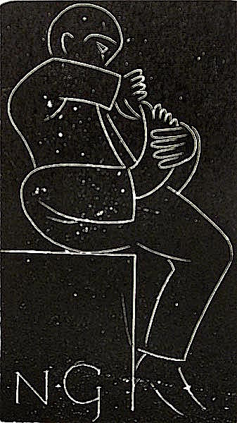 Toilet by Eric Gill - Davidson Galleries