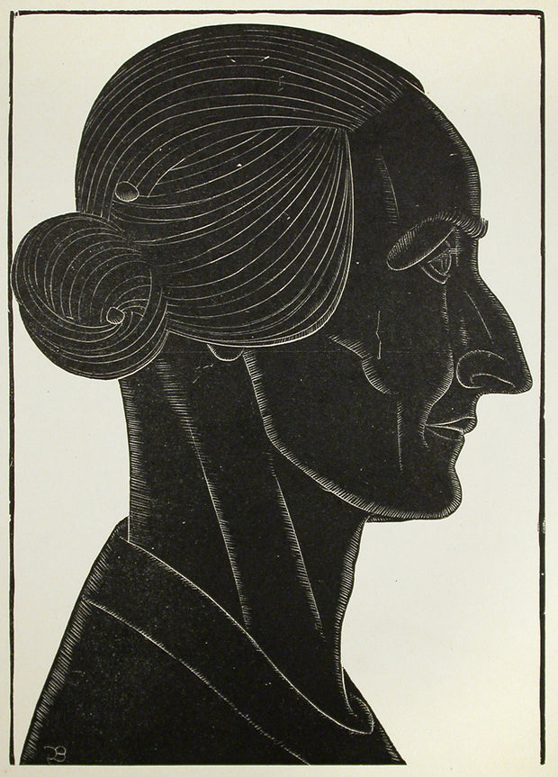 Portrait of Mrs. Williams of Ditchling by Eric Gill - Davidson Galleries