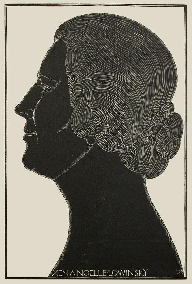 Xenia Noelle Lowinsky by Eric Gill - Davidson Galleries