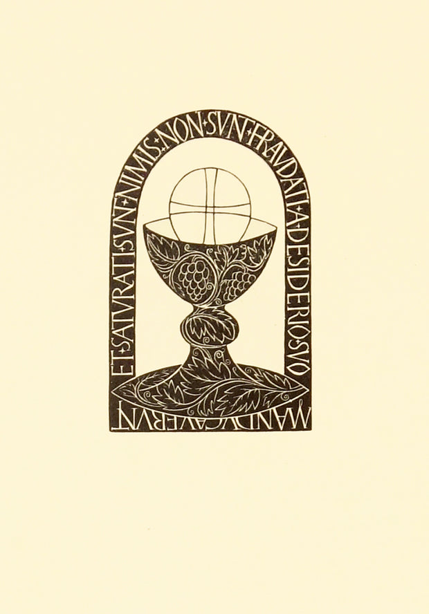 Chalice and Host by Eric Gill - Davidson Galleries