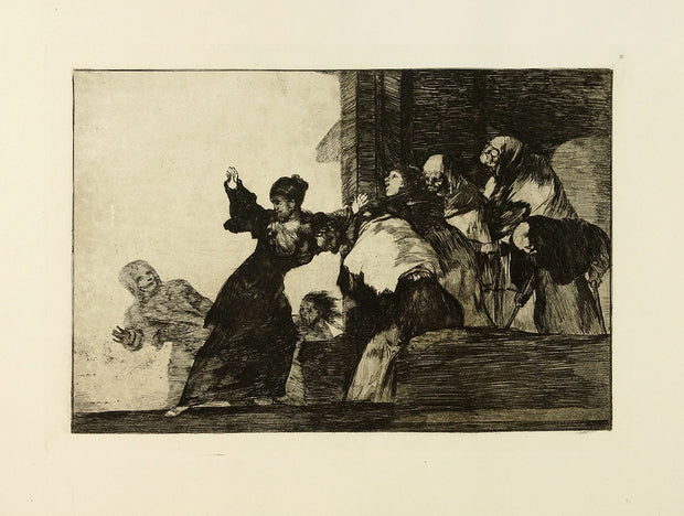 Disparate Pobre (Poor Folly / Two Heads Are Better Than One) by Francisco Goya - Davidson Galleries