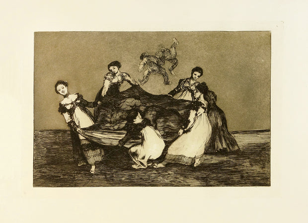 Pesa Mas Que un Burro Muerto (Heavier Than A Dead Donkey) by Francisco Goya - Davidson Galleries