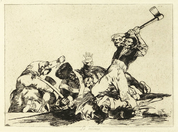 Lo Mismo (The Same) by Francisco Goya - Davidson Galleries