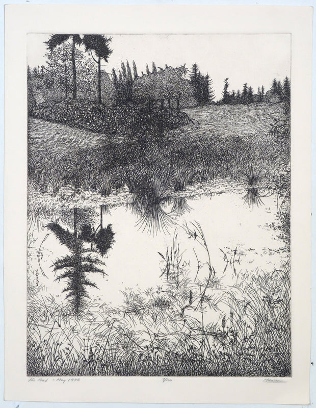 The Pond - May 1978 by Art Hansen - Davidson Galleries