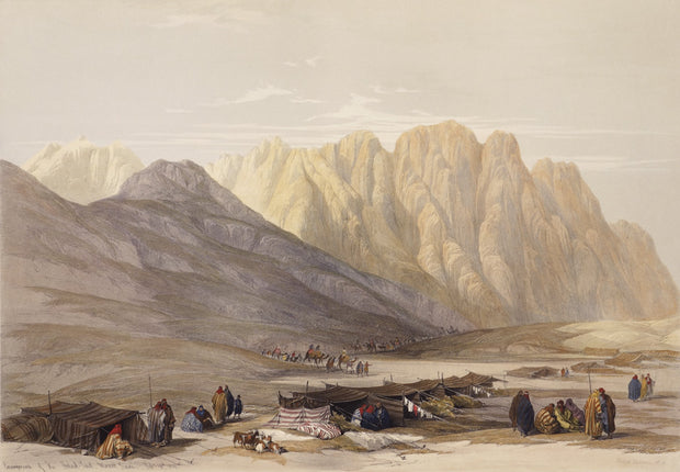 Encampment of the Aulaid - Said by David Roberts - Davidson Galleries