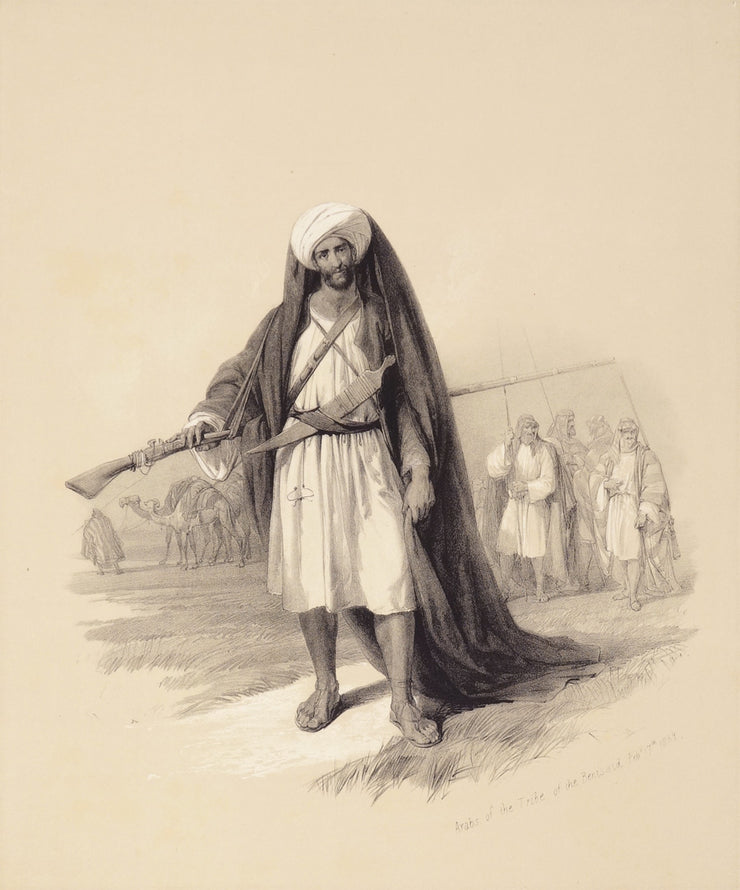 Arabs of the Desert by David Roberts - Davidson Galleries