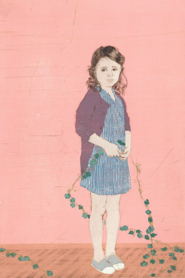 Girl and Garland II by Ellen Heck - Davidson Galleries