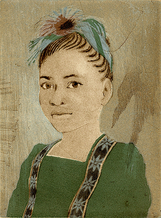 Jasmine As Frida by Ellen Heck - Davidson Galleries