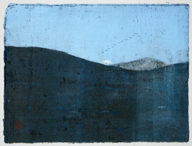 Sacred Mountains 5 by Seiichi Hiroshima - Davidson Galleries