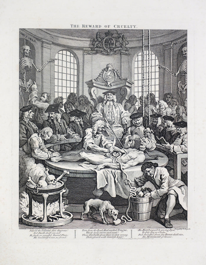 The Reward Of Cruelty by William Hogarth - Davidson Galleries