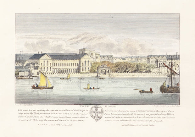 York House by Wenceslaus Hollar - Davidson Galleries