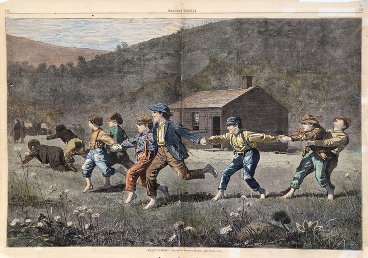 Snap-The-Whip by Winslow Homer - Davidson Galleries