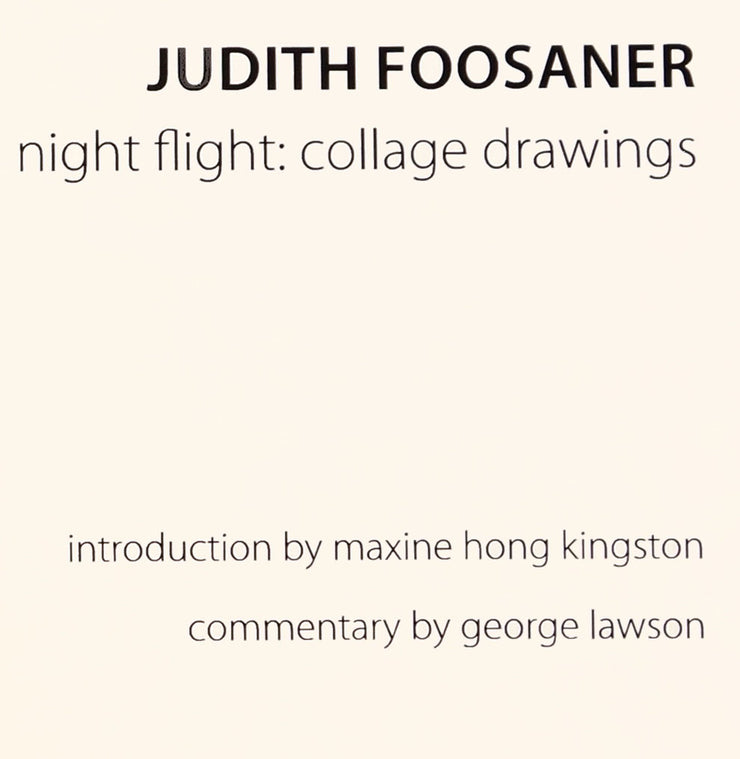 Judith Foosaner - Night Flight: Recent Collage Drawings by Judith Foosaner - Davidson Galleries