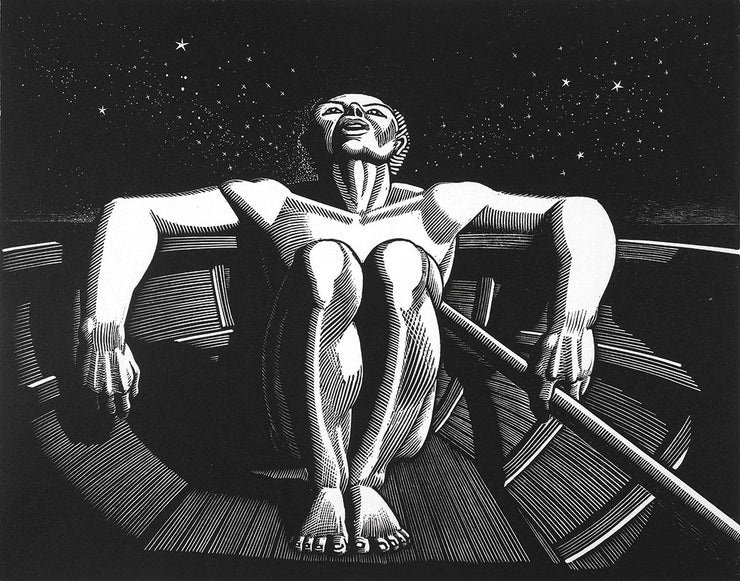 Drifter by Rockwell Kent - Davidson Galleries
