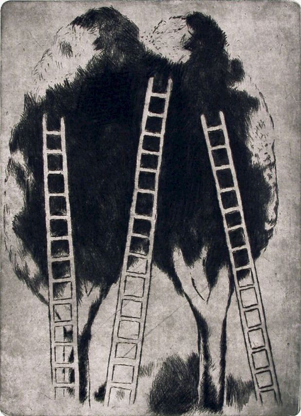 Ladders by Vladimir Komarek - Davidson Galleries