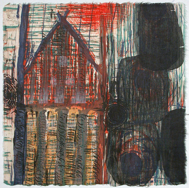 Landmarks (Suite of 4 prints) by Karen Kunc - Davidson Galleries
