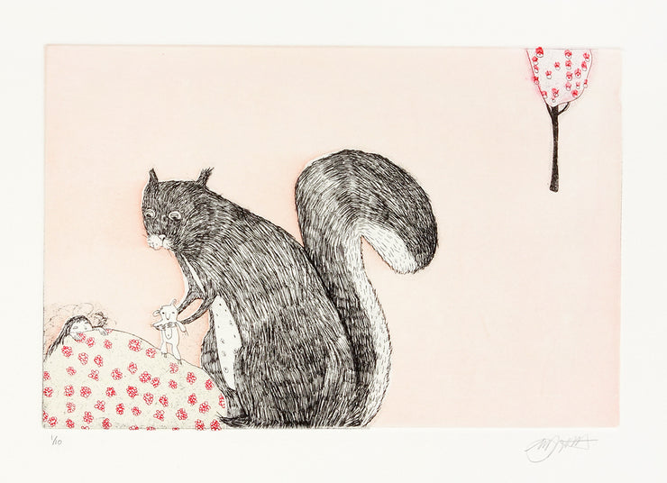 Untitled (Gift from a Squirrel) by Michèle Landsaat - Davidson Galleries