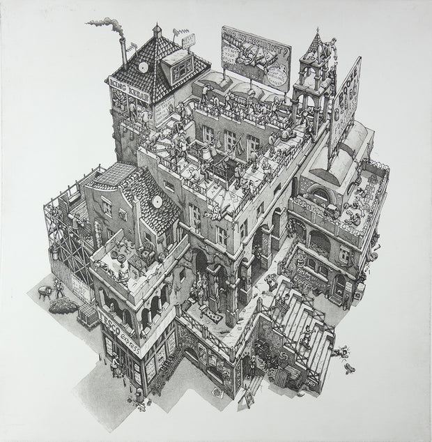 After Escher by Martin James Langford - Davidson Galleries